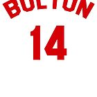 High School Musical: Bolton Jersey Red by RobynEJeffrey