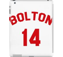High School Musical: Bolton Jersey Red iPad Case/Skin