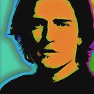 Orlando Bloom-The devil inside (Pop-Art) by OTIS PORRITT