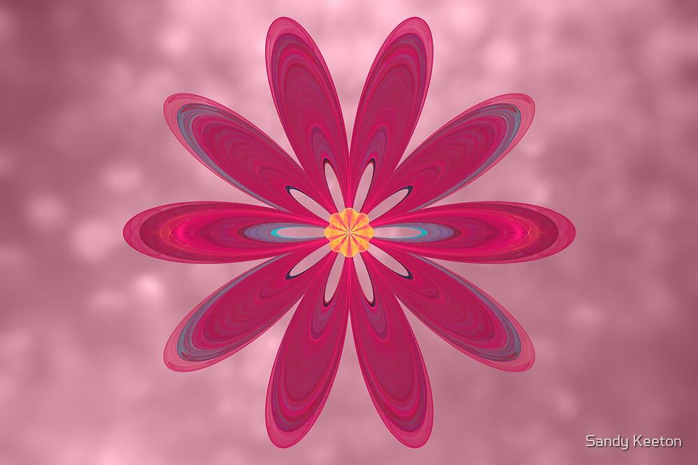 Foci Flower by Sandy Keeton