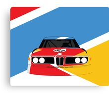 Alexander Calder's 1975 Art Car (Design #2) Canvas Print