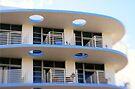 Miami Beach: Art Deco Blues by Kasia-D