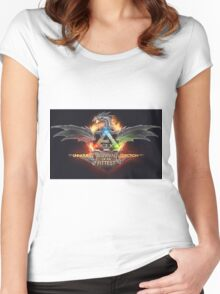 Ark - Survival of the fittest NEW Women's Fitted Scoop T-Shirt
