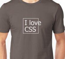 I love CSS Unisex T-Shirt