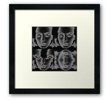 Adelȩ i̴s̡ ̛f͟ųc̡k̕ed́ Framed Print