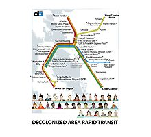 Decolonized Area Rapid Transit (DART) poster Photographic Print