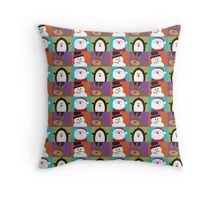 Christmas Friends Throw Pillow