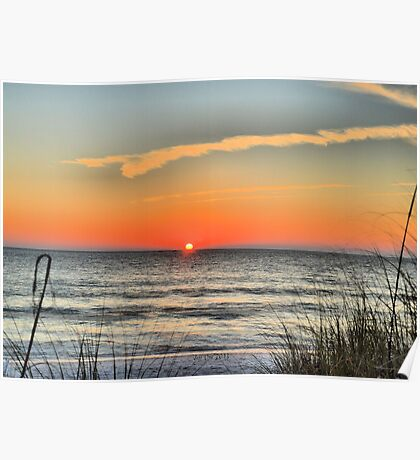 St.Pete Beach Sunset (HDR) Poster