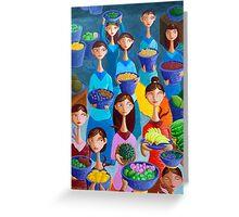 Tutti Frutti Greeting Card