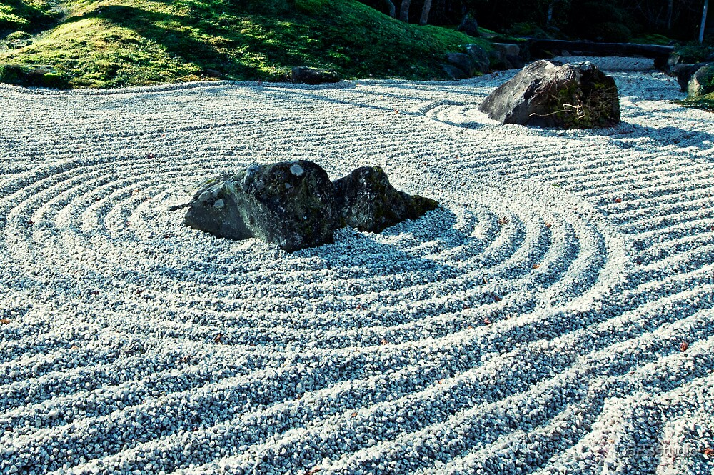 Zen Garden, Japan by 3523studio