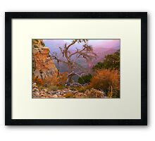 Lay My Ashes Here Framed Print