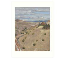 Westpoint Hill (Plein-air Study) Art Print