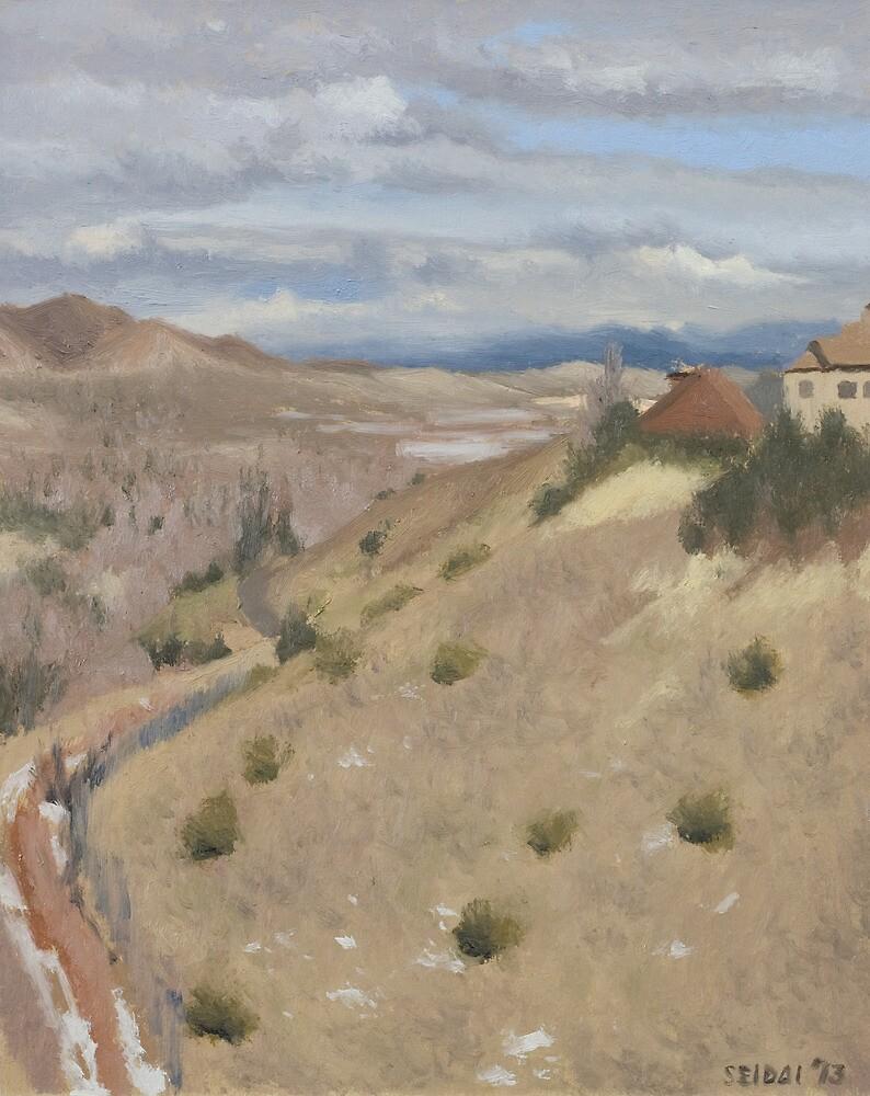 Westpoint Hill (Plein-air Study) by seidai