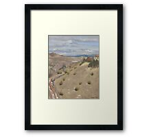 Westpoint Hill (Plein-air Study) Framed Print