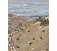 Westpoint Hill (Plein-air Study) Photographic Print