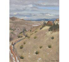 Westpoint Hill (Plein-air Study) Photographic Print