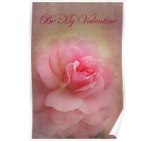 Be My Valentine - Card Poster