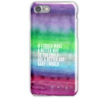 I would 2 iPhone Case/Skin