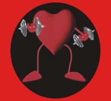 HEART PUMPIN  WEIGHTS TEE SHIRT by ╰⊰✿ℒᵒᶹᵉ Bonita✿⊱╮ Lalonde✿⊱╮