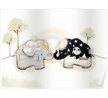 Good Karma Elephants Poster