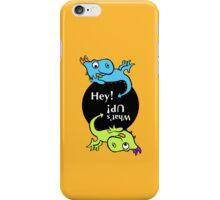 2 Dragon kids iPhone Case/Skin