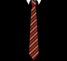 Gryffindor Tie by tjneedsalife