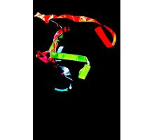 Ribbon Dance Abstract  Photographic Print