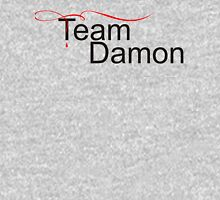 Team Damon Salvatore - for light Womens Fitted T-Shirt
