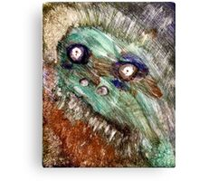 Super Scary Dude Canvas Print