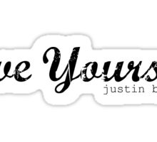 Love yourself Justin Bieber Sticker