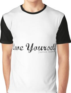 Love yourself Justin Bieber Graphic T-Shirt