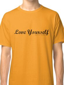 Love yourself Justin Bieber Classic T-Shirt
