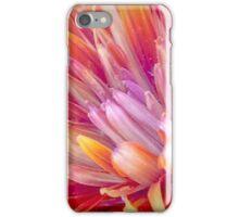 Pink And Orange Flower iPhone Case/Skin