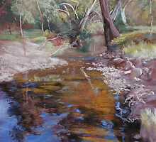 'Dabyminga Creek - Tallarook' by Lynda Robinson