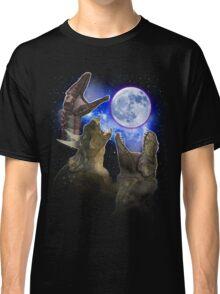 Exclusive Three Dinosaur Moon Shirt! Classic T-Shirt