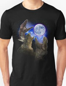 Exclusive Three Dinosaur Moon Shirt! Unisex T-Shirt