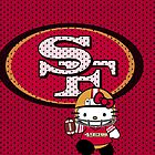San Francisco 49ers Hello Kitty Case Design! by endlessimages