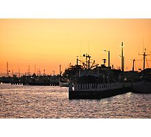 Dusk on the Harbour Photographic Print