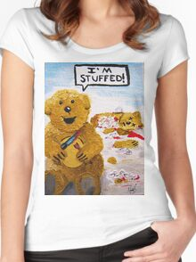 Bad Teddy Women's Fitted Scoop T-Shirt