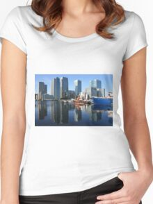 A true reflection of the Docklands Women's Fitted Scoop T-Shirt