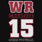 San Francisco 49ers WR Michael Crabtree #15 T-Shirt! by endlessimages