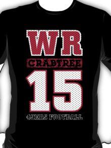 San Francisco 49ers WR Michael Crabtree #15 T-Shirt! T-Shirt