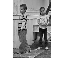 Befuddled Youngsters  Photographic Print