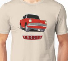 Ford Anglia - Two Tone Red And White Unisex T-Shirt