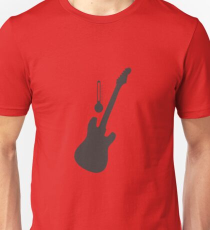 Guitar for Temperature Unisex T-Shirt