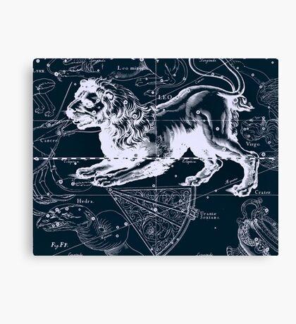 Leo Constellation Canvas Print