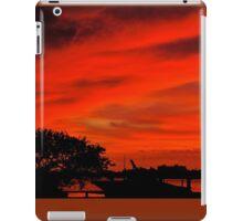 Safe in the harbor iPad Case/Skin
