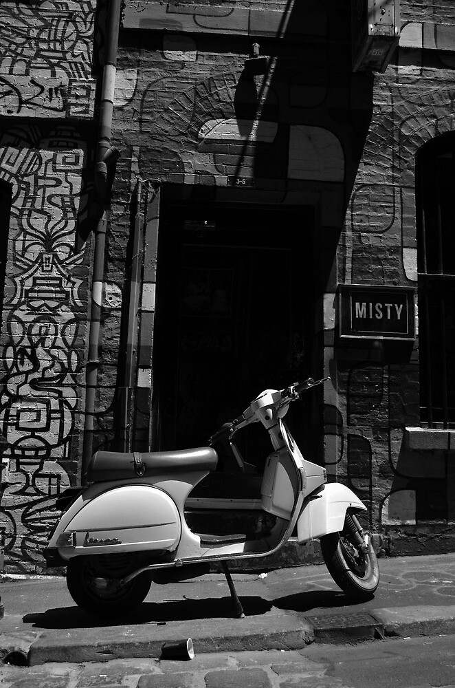 Vespa by Tom Blanche