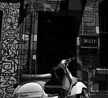 Vespa by Tom Blanche