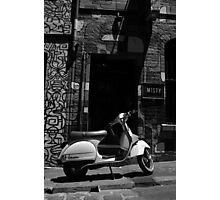 Vespa Photographic Print